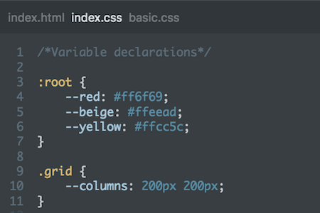 Learn CSS Variables for free