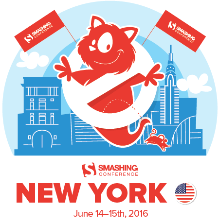 SmashingConf NYC 2016, March 15-16st 2016