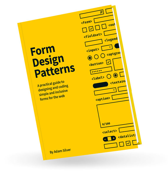 Form Design Patterns hardcover book