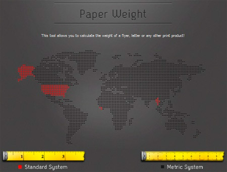 Paper weight calculator