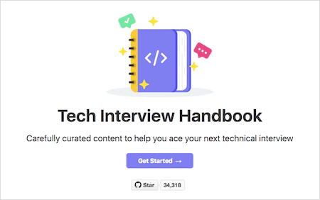 Tech Interview Handbook teaser
