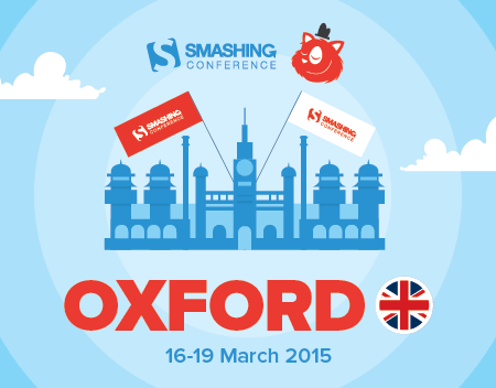 SmashinConf Oxford 2015