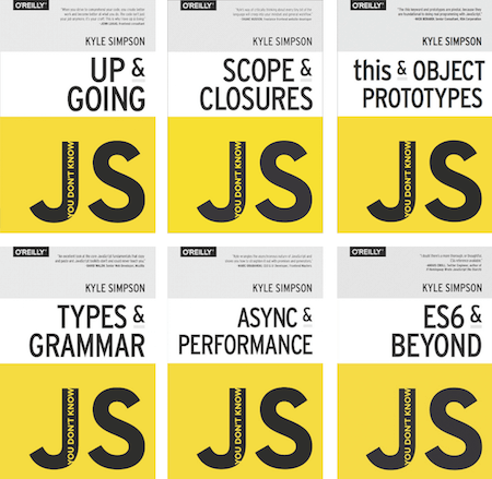 You Don't Know JavaScript
