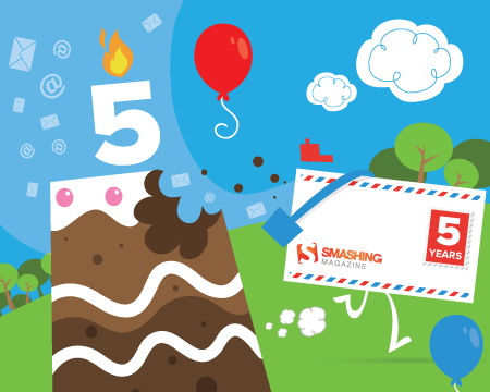 Smashing Newsletter: 5 Years Old: That's how it all started