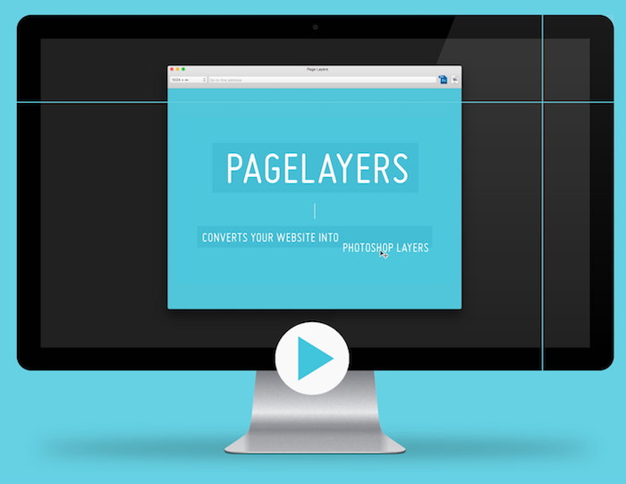 PageLayers, an application for importing DOM elements into layers in Photoshop.