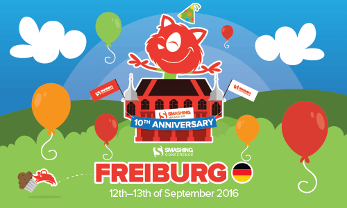 SmashingConf Freiburg, September 12-13th 2016