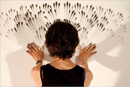 Wall Fingerings by Judith Braun