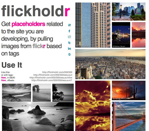 Automatic Placeholder Images