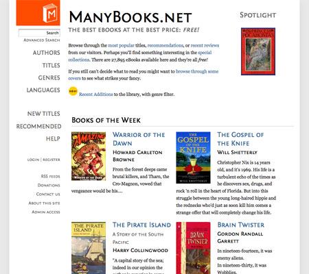 Repository of Free E-Books