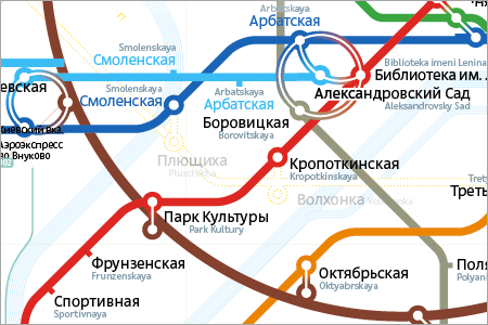 Designing An Underground Map: Moscow Metro (Case-Study)