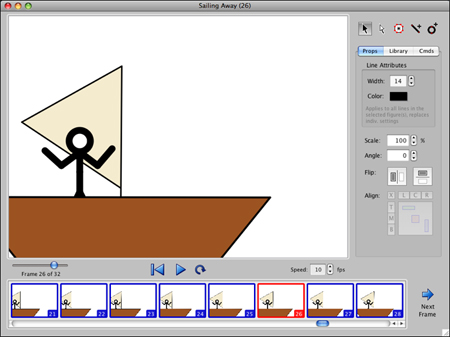 Create Stick-Figure Animations With Stykz