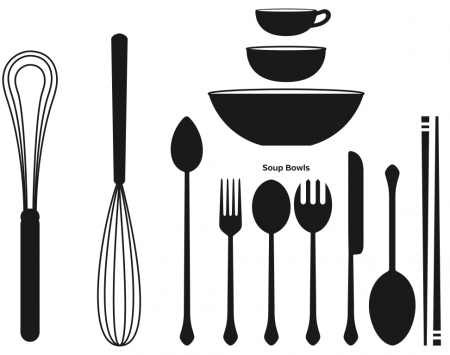 Freebie: Kitchen Cooking Vector Set