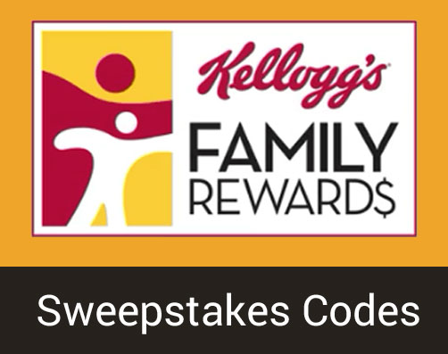 Log into your account to get KFR sweepstakes codes