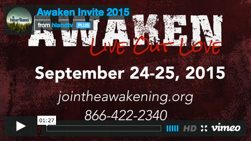 Awaken 2015 video invitation.