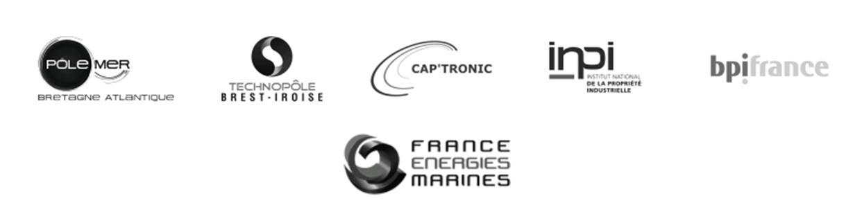Partenaires 2016 (PMBA, TBI, Captronic, INPI, BpiFrance, France Energies Marines)