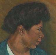 Louis Klein - 20th Century Oil, Portrait of a Lady