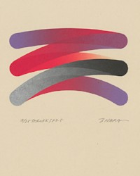 Takeshi Hara (b. 1942) - Signed Limited Edition 1983 Lithograph, Abstract