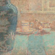 A.H. - Fine Framed 20th Century Oil, Still Life with a Jug