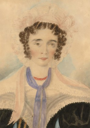 Early 19th Century Watercolour - Portrait of a Lady