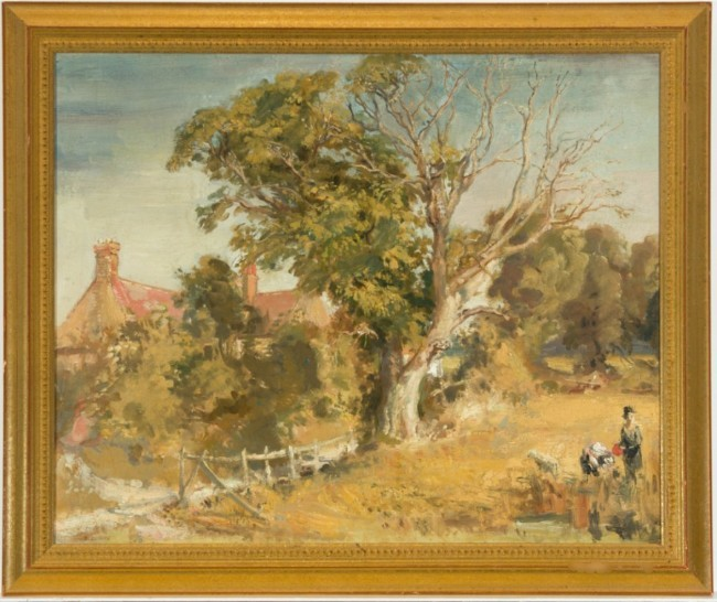 Robin Craig Guthrie (1902-1971) - English School 20th Century Oil, Rural Scene