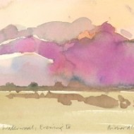 Richard J.S. Young - Signed 2017 Watercolour, Klein Waterval, Evening IV