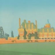 John Coleby - 1986 Silkscreen, Minley Manor