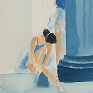 G. Hodgson - A Pair of 20th Century Watercolours, The Ballerinas