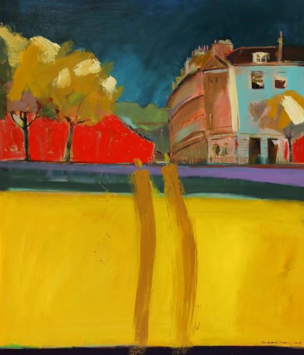 Richard J.S. Young - 2008 Acrylic, Laura Place, Bath