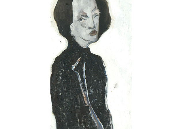 Ben Carrivick - Contemporary Oil, Lady in Black
