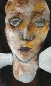 Ben Carrivick - Contemporary Oil, Modernist Portrait