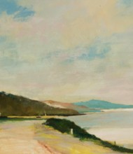 William Eyre (1891-1979) - Signed and Framed Oil, Loch Ryan, Galloway