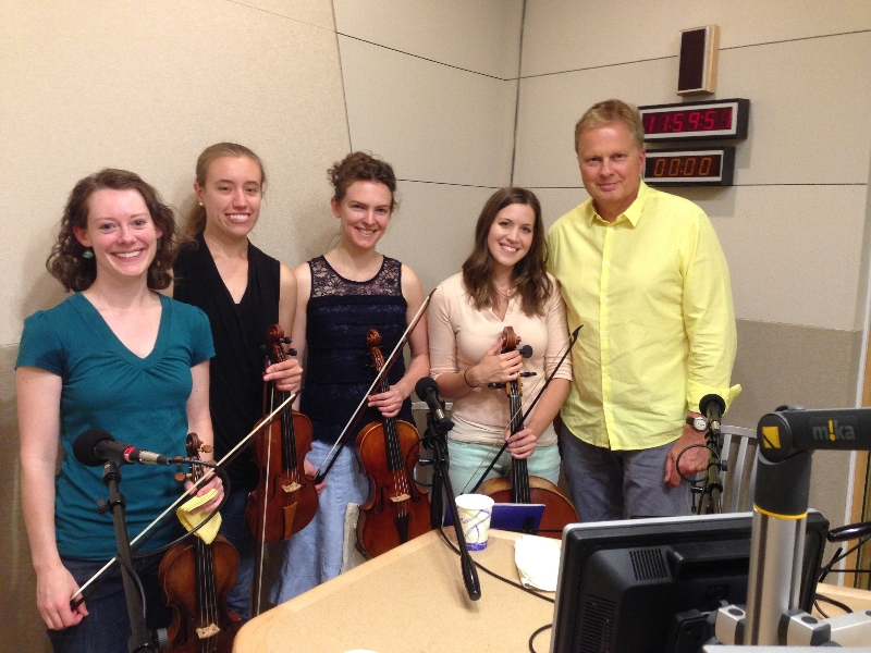 Emergence Quartet with Tom Ashbrook at WBUR