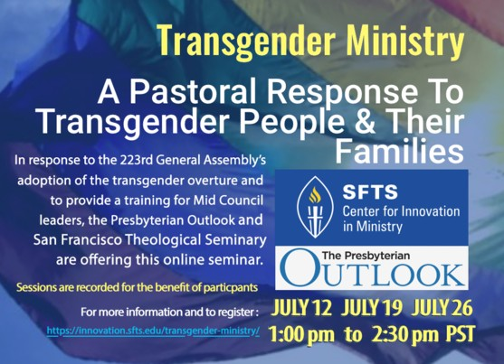 Pastoral Care for Transgender Persons and Their Families