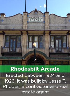 Image of Rhodesbilt Arcade, Lake Wales, FL