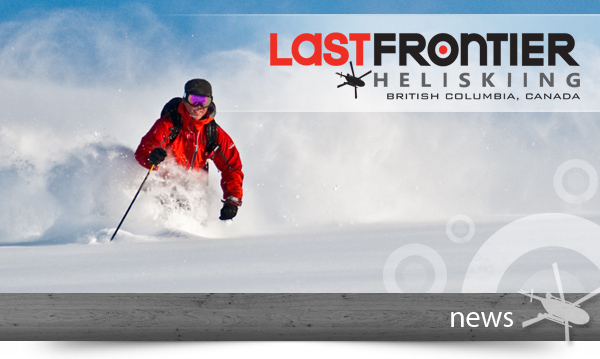 Last Frontier Heliskiing - May News