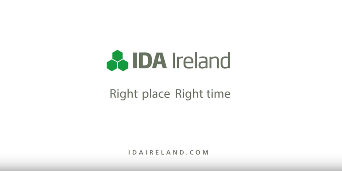 Watch Video: The end of Year Results from IDA Ireland 2017