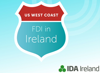 US West Coast FDI in Ireland (Infographic)