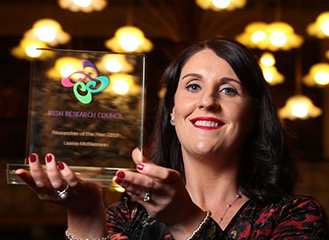 Irish Research Council Researcher of 2019 revealed