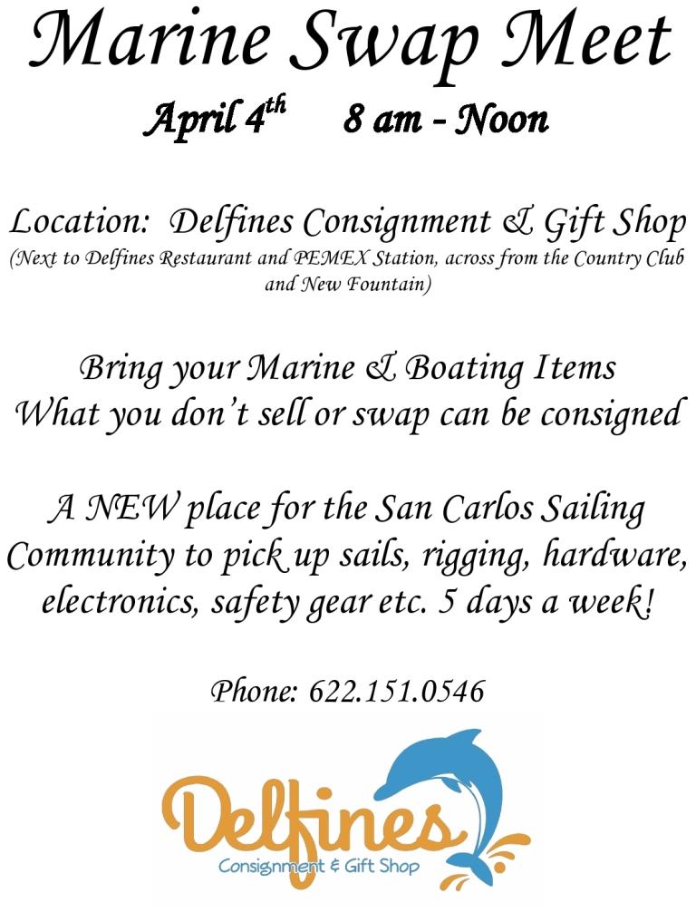 Marine Swap Meet, April 4
