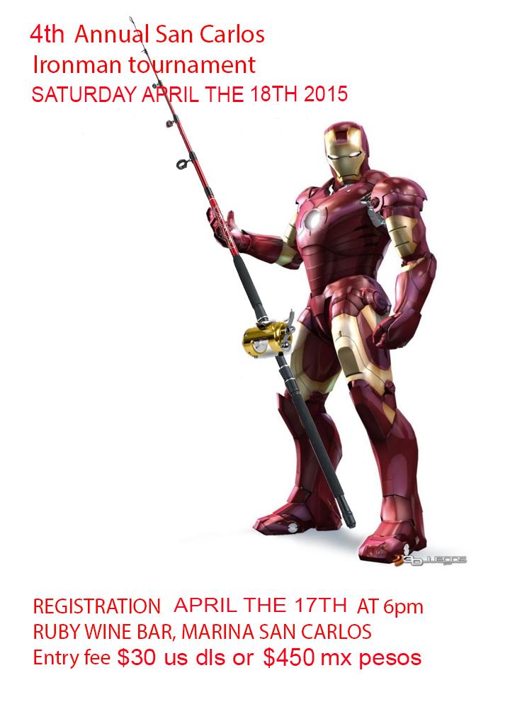 Ironman Fishing Tournament: April 18