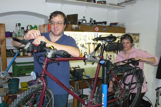 Bild: Fahrradwerkstatt