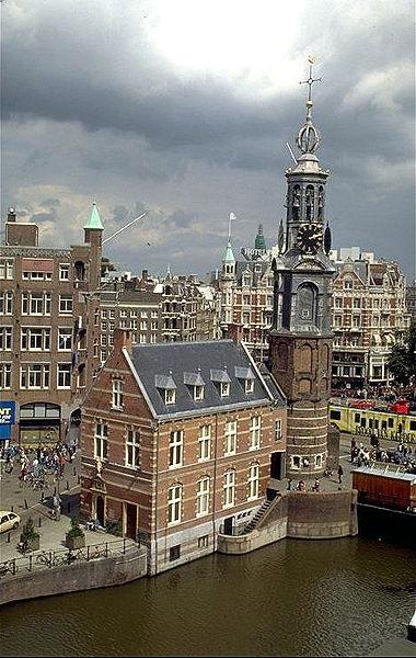 Bild: Munttoren, Amsterdam (c) wikipedia