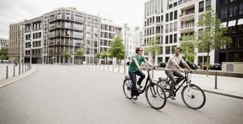 Bild: Fahrradverkehr in der Stadt