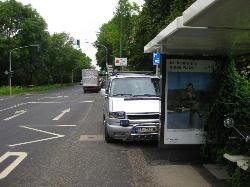 Bild: Falschparker Hildener Straße
