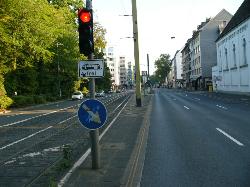 Bild: Kaiserstr. in Düsseldorf