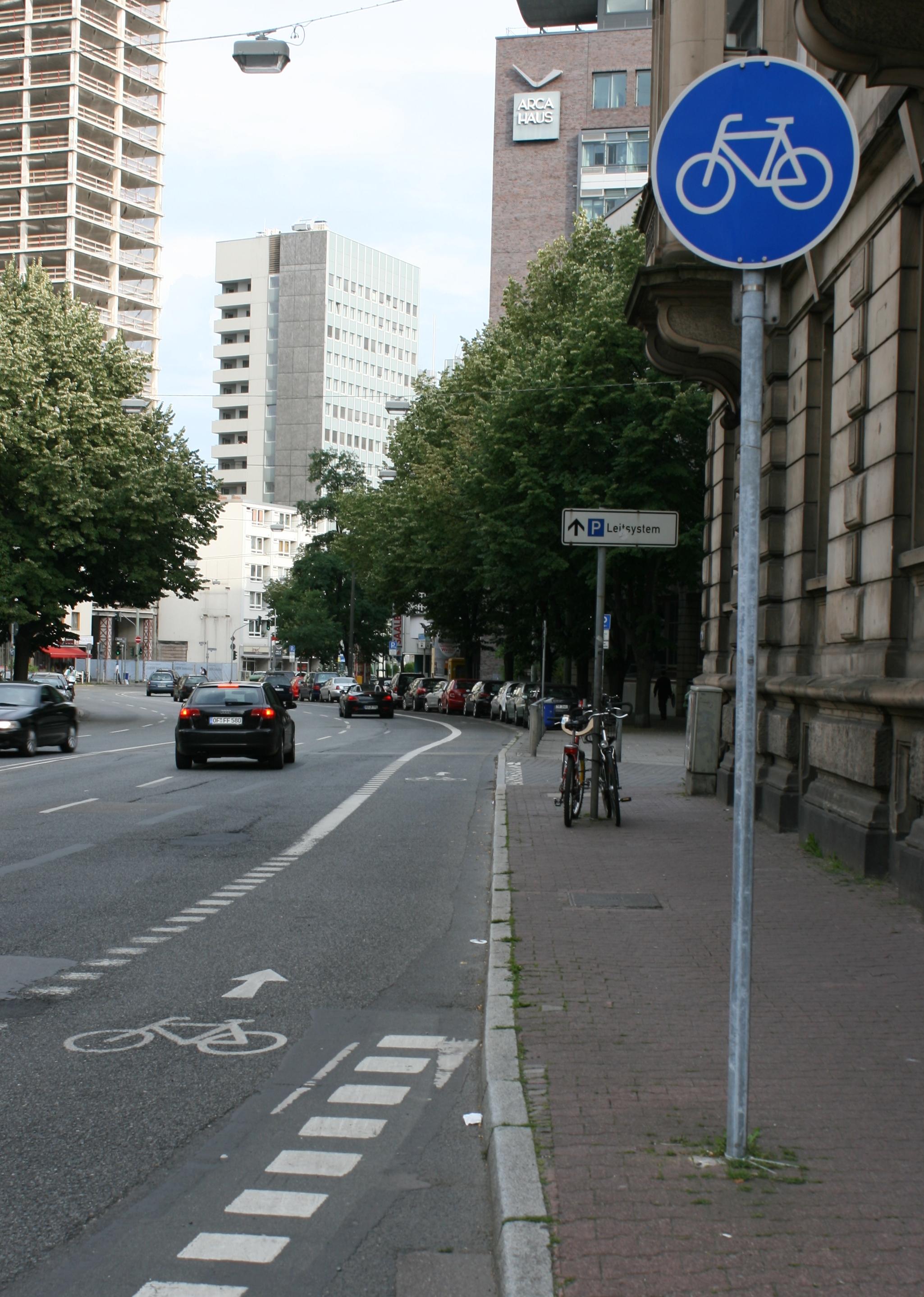 Bild: Radweg