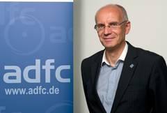 Bild: ADFC NRW Vorsitzender Thomas Semmelmann