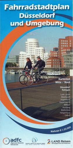 Bild: ADFC Fahrradstadtplan Düsseldorf