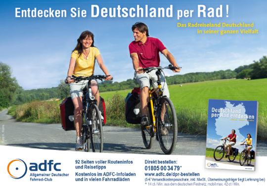 Anzeige: Entdecken Sie Deutschland per Rad