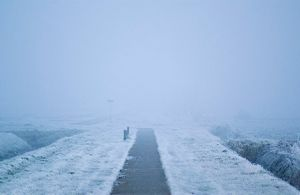 Bild: beheizter Radweg